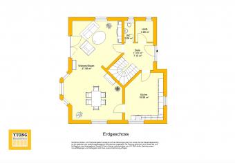 Grundriss Beispielhaus 12.0 EG