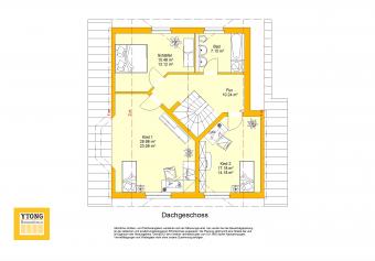 Grundriss Beispielhaus 12.0 OG